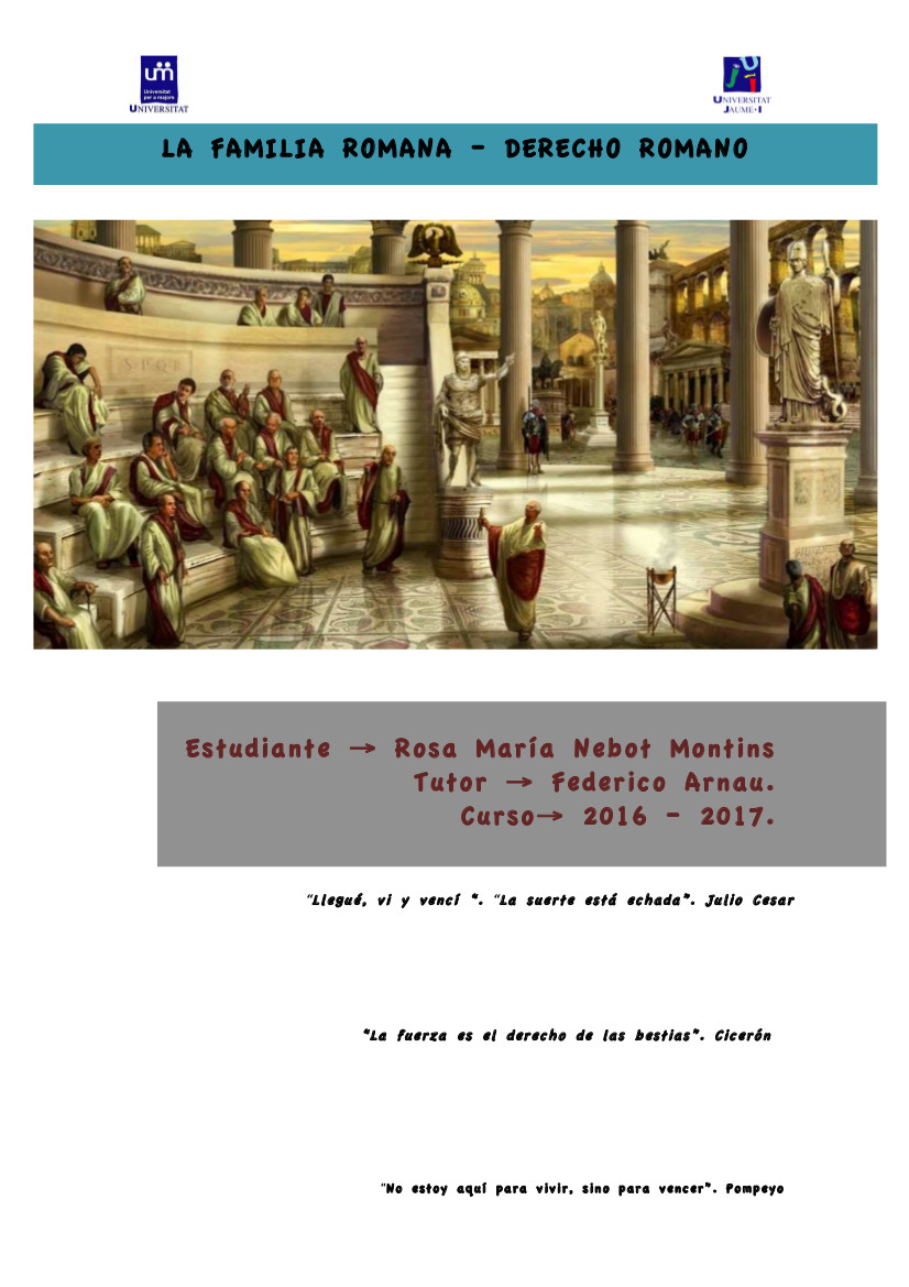 La-familia-romana