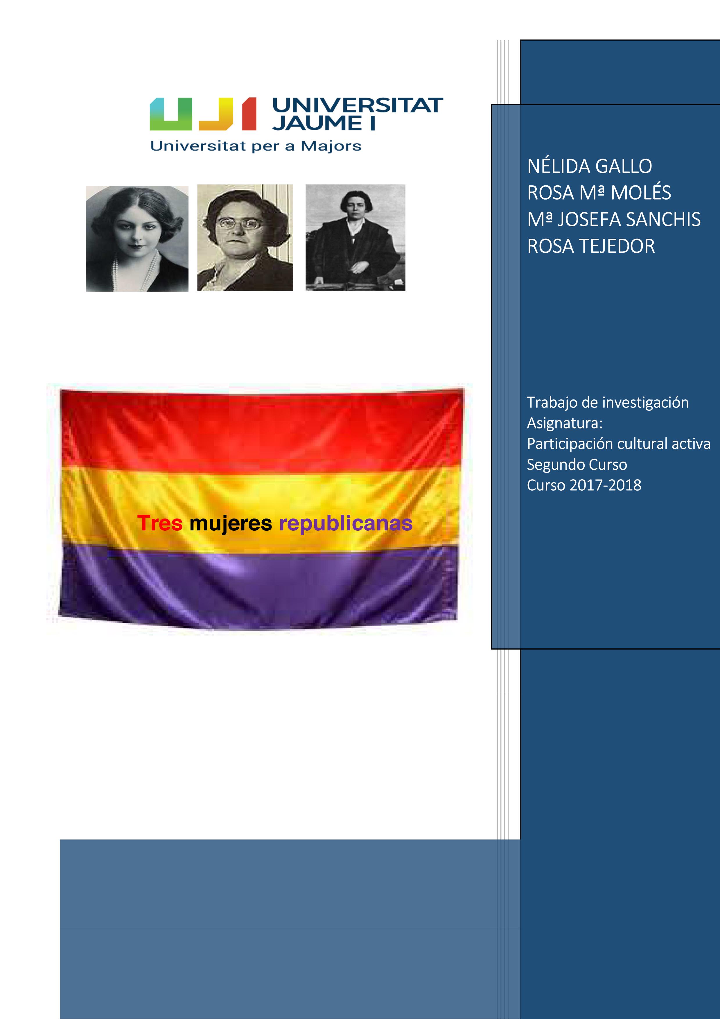 2-Mujeres-republicanas-Tres-mujeres-en-la-republica