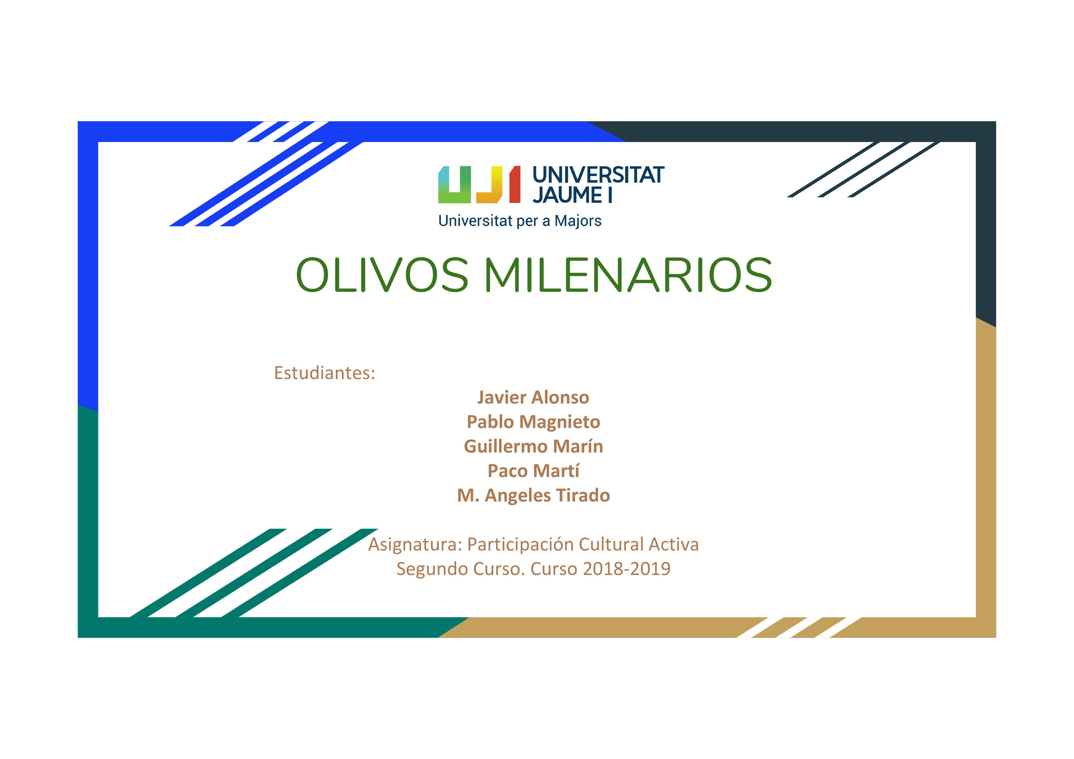 OLIVOS-MILENARIOS