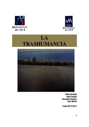 LA-TRASHUMANCIA